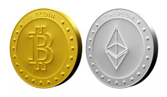 Kryptowährungen als Geldanlage - Bitcoin und Ethereum